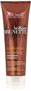 John Frieda Brilliant Brunette Multi-tone Revealing Moisture Shampoo for Natural or Highlighted Brunette, 8.45 Ounce (Pack of 2) - http://womensfragrancesperfumes.com/beauty/hair-care/shampoos/john-frieda-brilliant-brunette-multitone-revealing-moisture-shampoo-for-natural-or-highlighted-brunette-845-ounce-pack-of-2-com/
