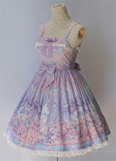 The Easter Bunny- Lolita Jumper Dress $77.99 - My Lolita Dress