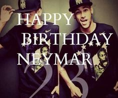 Happy birthday neymar ❤