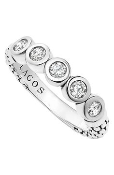 Women's LAGOS Diamond Stacking Ring