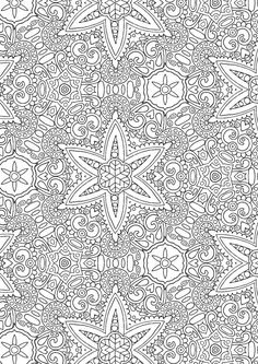 Kaleidoscope 1 - Colour with Me HELLO ANGEL - coloring, design, detailed…