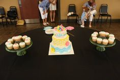 the cake from the west liberty shower
