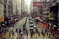 china; hong kong; street