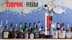 Tank Rum looks great at the bar! Who's thirsty?!? www.fundable.com/tank-rum www.tankrum.com