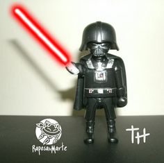 Playmobil Darth Vader (I am wishing they really made these, but I guess Lego will have to suffice... or I can make my own!)