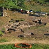 found in Genzano, a village southeast of Rome which overlooks Lake Nemi, a crater lake in the Alban Hills, the oval structure measures 200 feet by 130 feet and dates to the 2nd century.