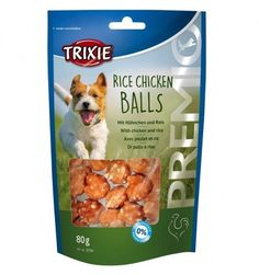 PREMIO RICE CHICKEN BALLS 80 GR  #petshouseacerra    1,99 €    Clicca sul link -> https://www.pets-house.it/snack/4978-premio-rice-chicken-balls-80-gr-4011905317014.html