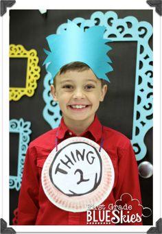 Read Across America {FREEBIES} and Fun! - First Grade Blue Skies