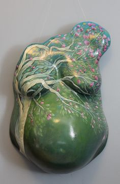 Tree Belly by Artist Crystal Driedge