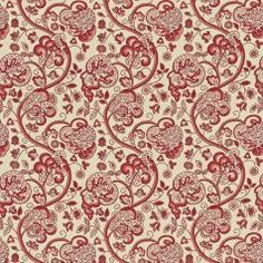 Sanderson Richmond Hill Prints Wycombe Fabric Collection DRCH222065