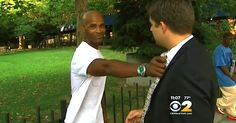 Man Who Rescued Woman From Attack Receives Unexpected Thank You via LittleThings.com