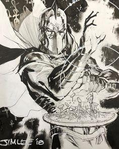Dr Fate by Jim Lee westerncomics Comic Book Artists, Comic Book Characters, Comic Artist, Comic Books Art, Kent Nelson, Dr Fate, Jim Lee Art, Drawing Superheroes, Superman