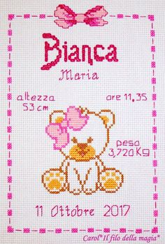 Baby Cross Stitch Patterns, Cat Cross Stitches, Cross Stitch Baby, Bead Loom Patterns, Cross Stitch Designs, Cross Stitching, Cross Stitch Letters, Beaded Cross Stitch, Chain Stitch