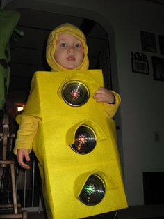 Traffic light costume. charlies working traffic light costume homemade 2011  sc 1 st  Pinterest : traffic light costume  - Germanpascual.Com