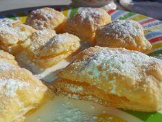 Claudia, Consuelo y su mundo: Pastelitos de hojaldre rellenos de lemon curd