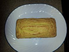 Low carb coconut bread - This is an easy recipe that not only looks good but taste good too! (Unlike a lot of low carb breads) It has a sweet taste and has a texture of pound cake or cornbread. Only 2 net carbs per serving!