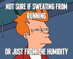 Not Sure if Sweating from Running or Just...  #dubai #onlyindubai #dubaiproblems #dxb #dubailife #uae #mydubai #sharjah #abudhabi #alain #dubaiexpat #dubaimemes #dubaimall #myuae