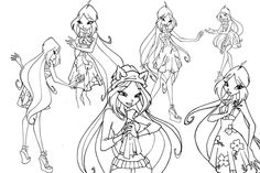 Winx Club Favourites By Funtherblade On DeviantArt