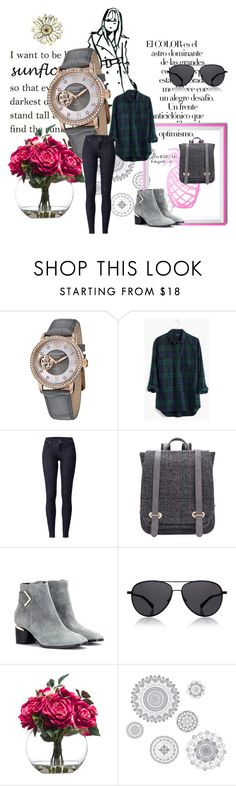 Untitled #604 by camiisaigos15 on Polyvore featuring Madewell, Nicholas Kirkwood, Stührling, The Row, Lux-Art Silks, WallPops and Arco