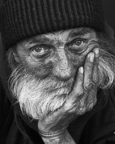Homeless Mike by Leroy Allen Skalstad
