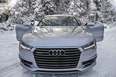Audi A7 in the snow #Audi #AudiA7 #auditography