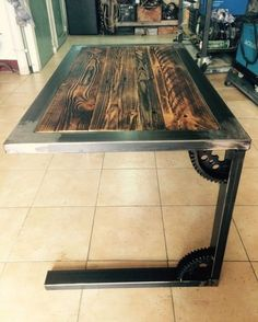 amazing rate and comment below! Discover How to launch your own woodworking Business & ? Click the amazing rate and comment below! Discover How to launch your own woodworking Business & ? Welded Furniture, Steel Furniture, Pallet Furniture, Furniture Projects, Rustic Furniture, Furniture Design, Furniture Stores, Woodworking Shows, Woodworking Projects