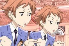 high school host club twins | via ayame minami