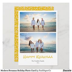 Holiday Photo Cards, Holiday Photos, Christmas Cards, Happy Kwanzaa, Picts, Papers Co, Cute Pattern, Zazzle Invitations, Card Sizes