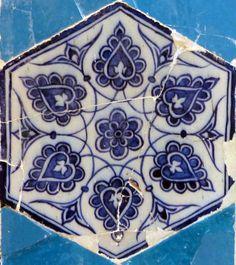 Leaf Design - MuradiyeMosquée située à Edirne datant de 1435. Elle est décorée de céramiques par des artistes d'origines diverses, mais d'un exceptionnel talent