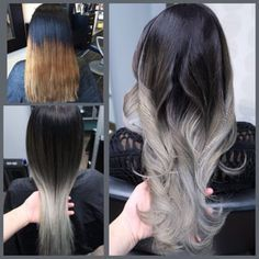 My client travels from La for me to correct this took us 3 sessions.1 American tailoring . 2 ombre balayage.Super healthy still. - Yelp
