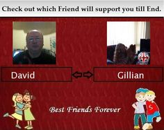 Check my results of Which Best Friend will support you till End ? Facebook Fun App by clicking Visit Site button