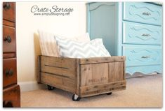 DIY Storage crate