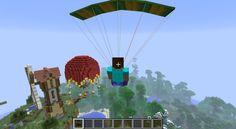 Parachute Mod | Minecraft Mods