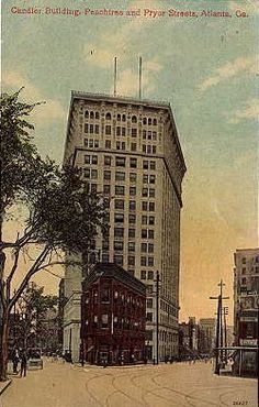 Candler Building at Peachtree and Pryor Streets 1911