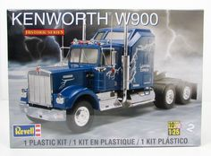 What are some model semi truck kits?