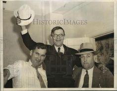 1940 Press Photo Eugene Talmadge Celebrates Leads in Georgia Election