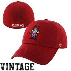 47 Brand Nebraska Cornhuskers New Vault Franchise Fitted Hat - Scarlet f2da801c7