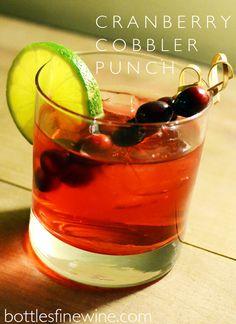 cranberry cobbler punch