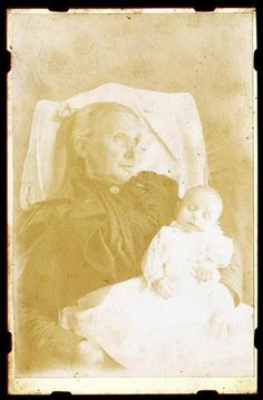 Post Mortem Antique Cabinet Card of Mother Holding Her Dead Child | eBay