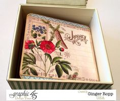 Time to Flourish Box Accordian Album