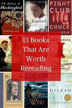 These Books That Are Worth Reading -- Again! Didn't read the article; pinning solely because Na