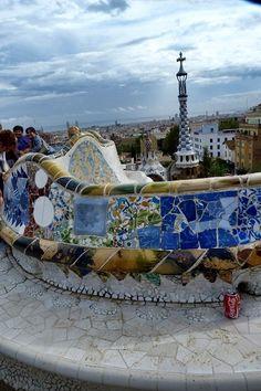 Gaudis+Traum+einer+neuen+Stadt,+der+Park+Güell…