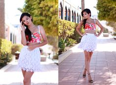 THE DOLCE FLOWERS (by Doina Ciobanu) http://lookbook.nu/look/3754243-THE-DOLCE-FLOWERS
