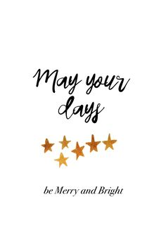 May yours days be merry and bright. #madewithover #christmas