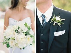 Ivory bridal bouquet by Sweet Marie Designs // image by Ashley Kelemen Photography