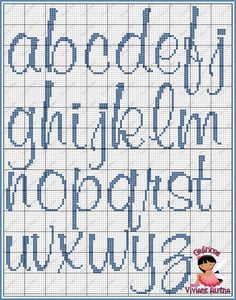 I appreciate this lovely photo Crochet Alphabet, Cross Stitch Alphabet Patterns, Cross Stitch Letters, Cross Stitch Love, Cross Stitch Designs, Stitch Patterns, Cross Stitching, Cross Stitch Embroidery, Embroidery Alphabet