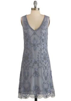 Bead It Dress in Grey, #ModCloth
