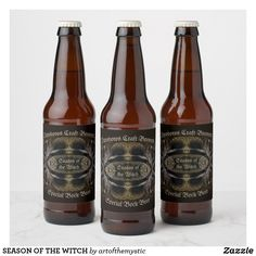 Shop Beer Design Home Brew Label created by SjasisDesignSpace. Beer Brewing, Home Brewing, Bottle Labels, Beer Bottle, Beach Humor, Season Of The Witch, Easy Peel, Beer Label, Bottle Design