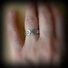 Dandelion ring Dandelion jewelrySterling Sterling silver