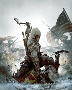 Assassin's Creed III Art & Pictures  Box Art Illustration